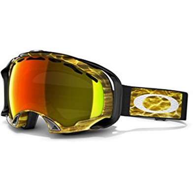 Skibriller / Goggles - Oakley Splice Amped Bright Orange