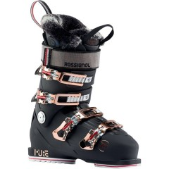 Skistøvler - Rossignol PURE HEAT PRO (NIGHT BLACK)