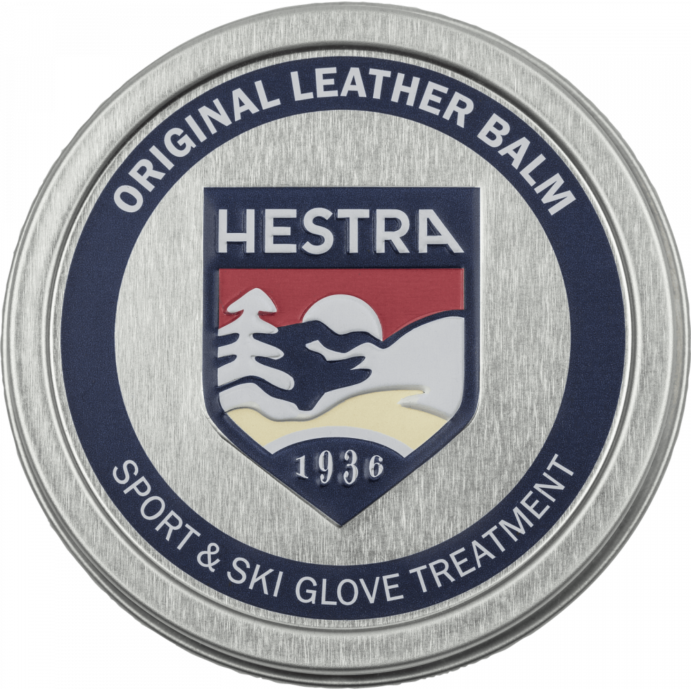 hestra læder balsam, leather balm,